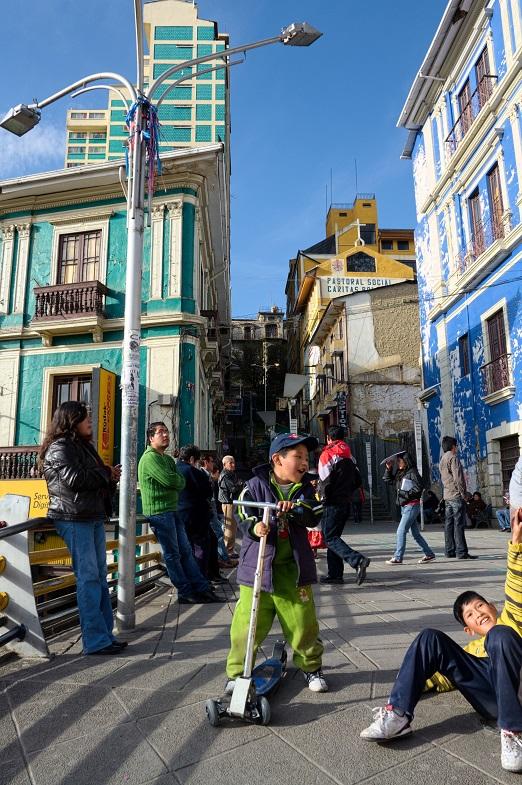 happiness in La Paz