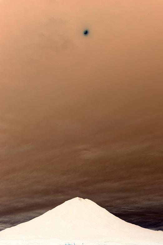 black sun over olympus volcano