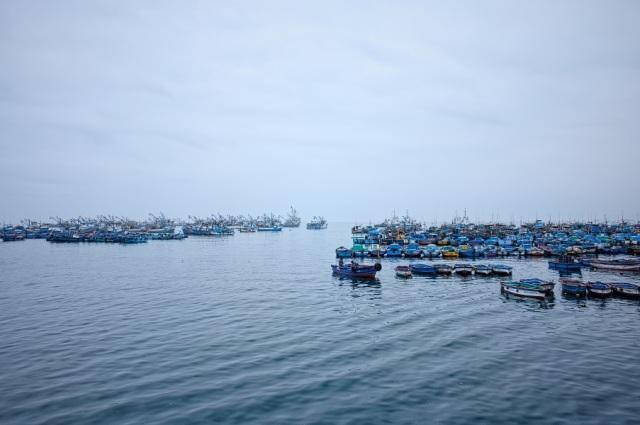 la mar azul