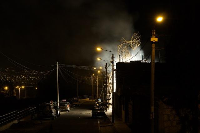 A street of fire