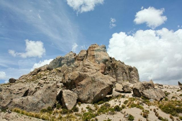 rocky castle