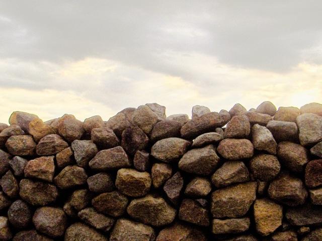 Stone by stone...